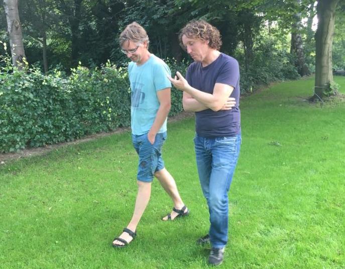 Jeroen Hulsbosch Wandelt Met Client
